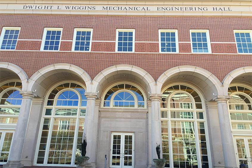 Mechanical Engineering Building Address