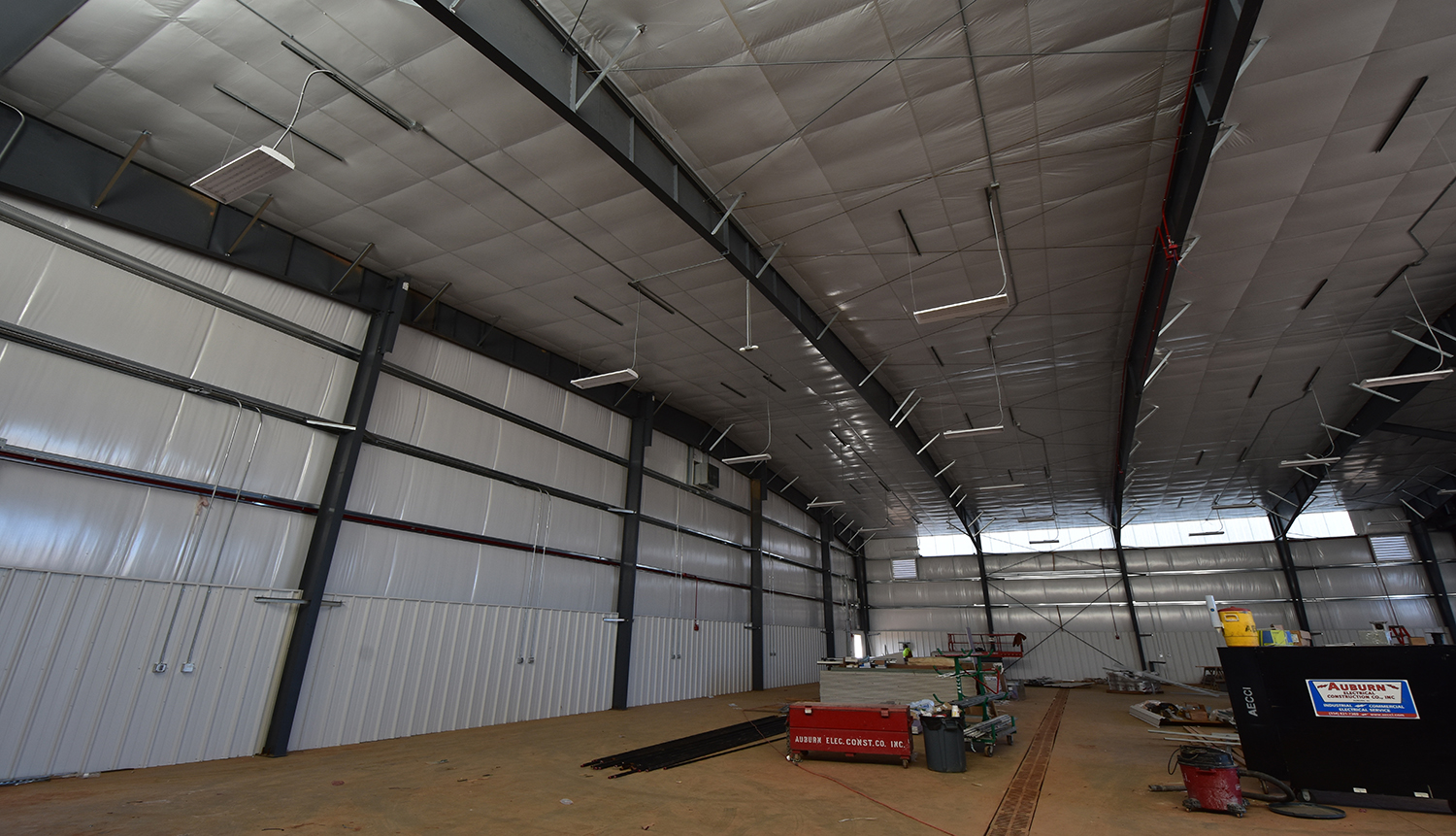 Airport Maintenance Hangar (January 2018)