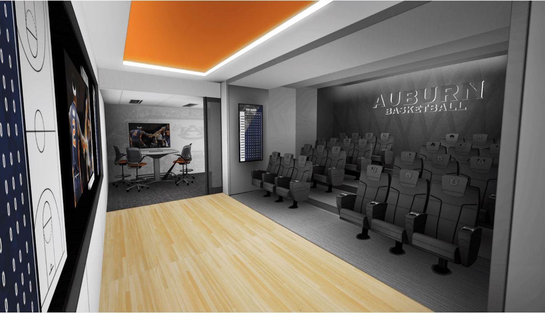 Au Facilities Management Auburn Arena Locker Room