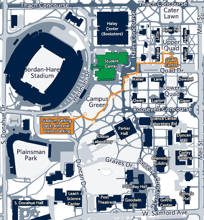 Auburn University Campus Map Visit Auburn | Office of Undergraduate Admissions