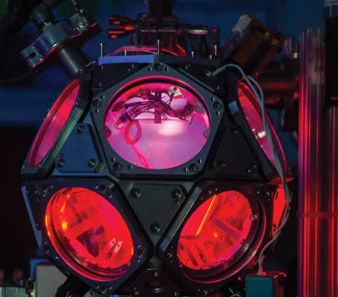 the dodecahedron plasma discharge chamber, an experimental device