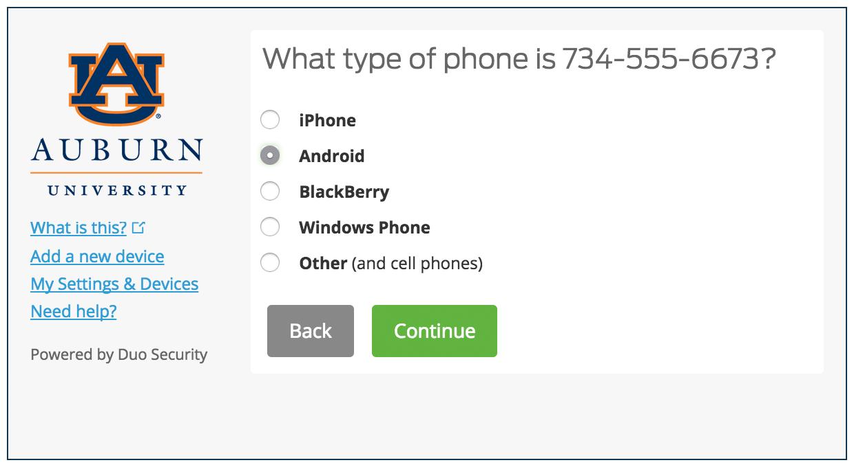 Select Device Platform