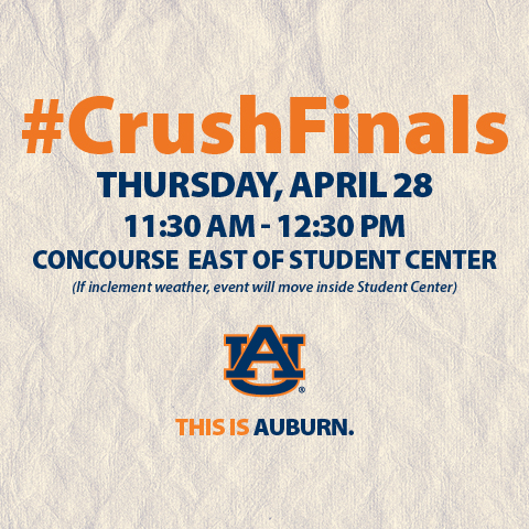 Join us on the Concourse April 28 at 11:30am