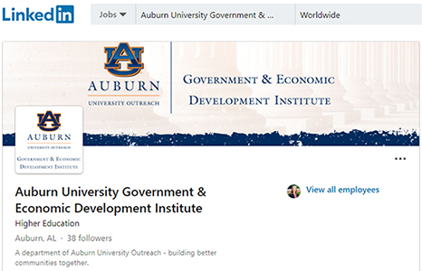 Government and Economic Development Institute on LinkedIN