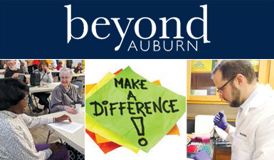 Auburn University Outreach Beyond Auburn Magazine Cover