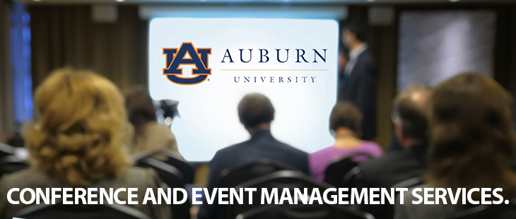 Conference and event management services