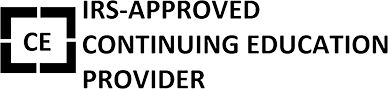 IRS-Approved Continuing Education Provider Logo