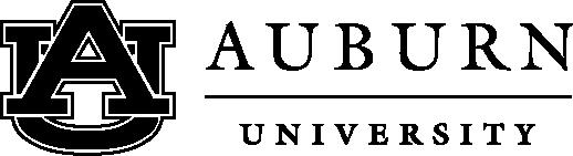 Auburn University print logo